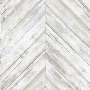 Walls Republic Wood Weathered Herringbone Grey And Black Wallpaper R4661 217996 Ess Herringbone Wallpaper Herringbone Wood Wood Wallpaper