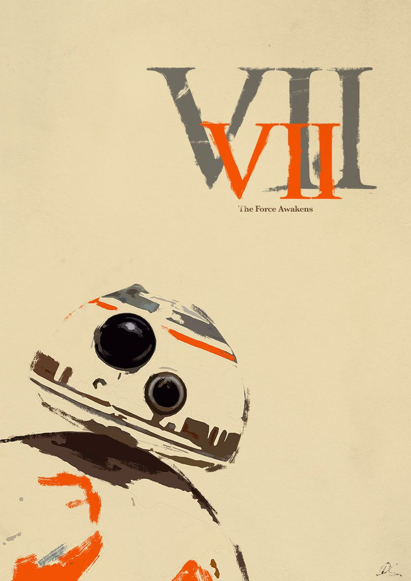 Star Wars BB-8 Poster by CoolSurface on @DeviantArt