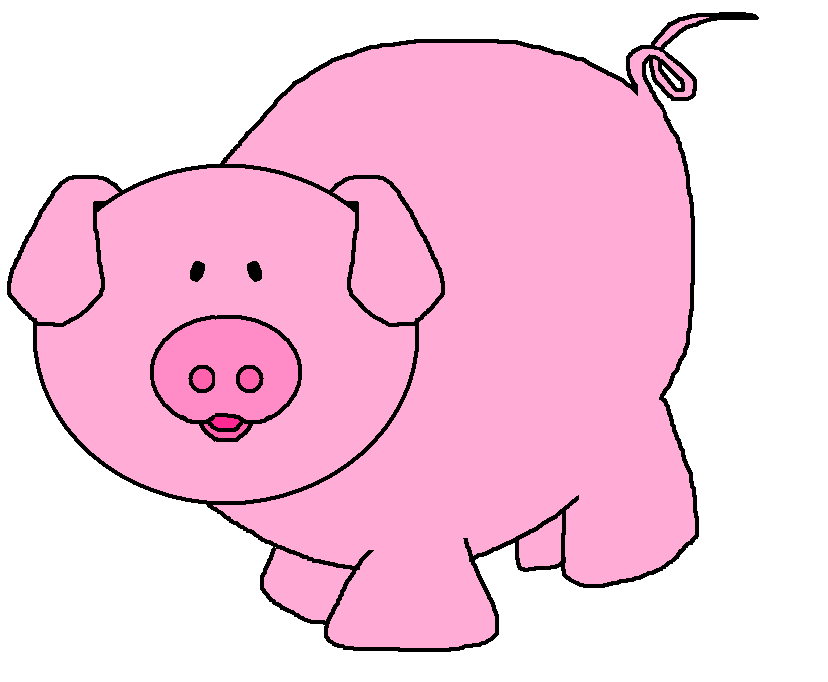 pigs cartoon pig clipart clipart kid pigs pinterest pig pig rh pinterest com clip art pig face clipart pigs at the trough
