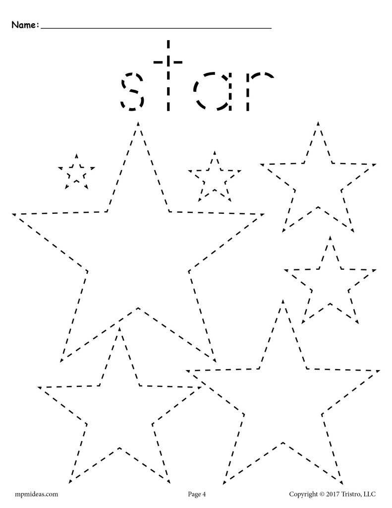 12 Shapes Tracing Worksheets With Images Shape Tracing