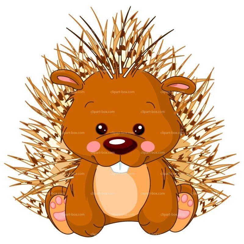 Clipart Porcupine Cartoon Royalty Free Vector Design Porcupine Downloadable Art Hand Art