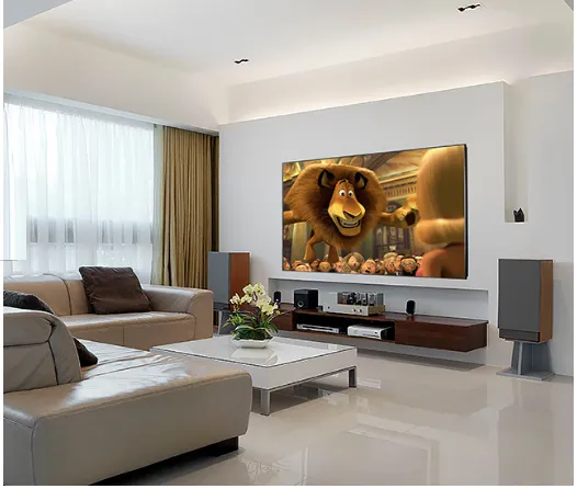 Home Interiors Ust Projector Screen 90 100 120 Inch Tv Home Theater Projector Screen Ust Screens Living Room Decor Apartment Homedecor Living Room Home