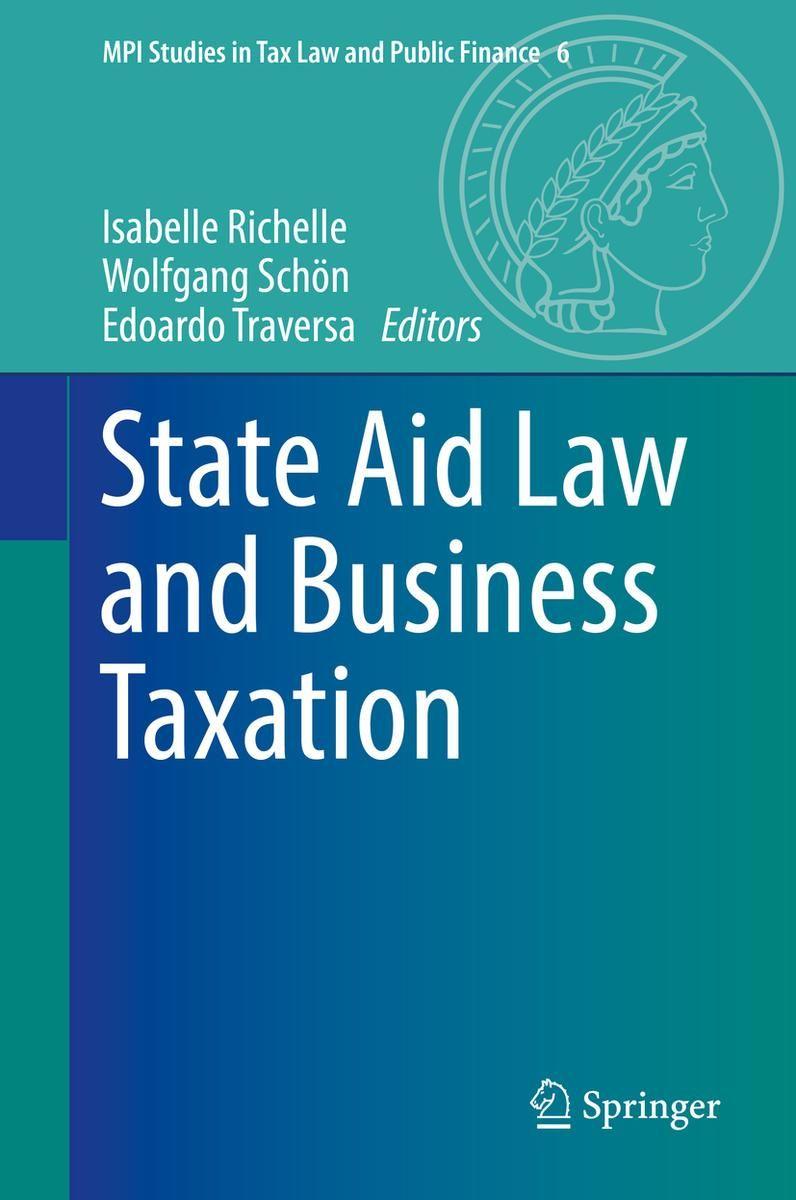 STATE AID LAW ANS BUSINESS TAXATION éd. par Isabelle