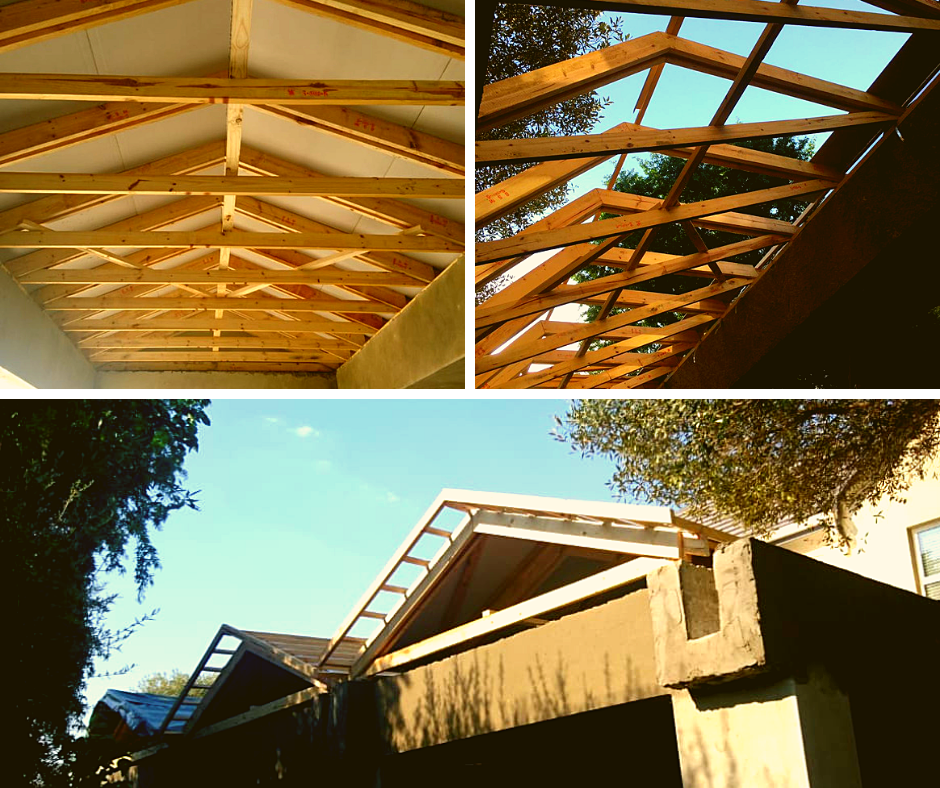 Beautiful Exposed Trusses Luxury In Your Home Tel 011 769 2201 Email Info Technistrut Co Za Exposedtrusses Timb Roof Design Roof Trusses Exposed Trusses