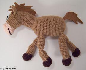 Amigurumis Caballitos A Crochet : Caballito amigurumi crochet pattern tutorial patrones