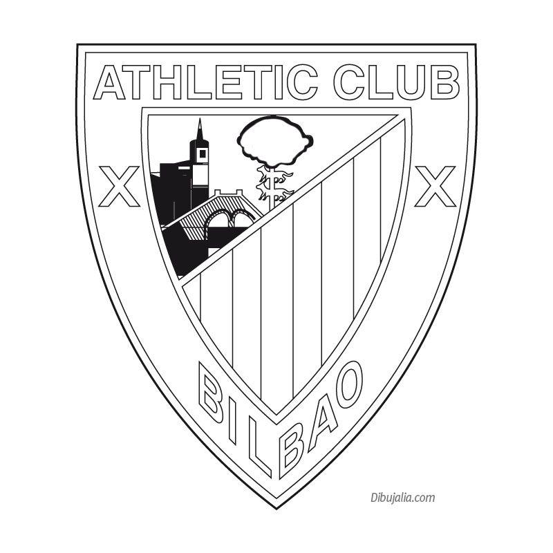 Athletic De Bilbao Dibujalia Dibujos Para Colorear Banderas Az Dibujos Para Colorear Fútbol Colores Dibujos Para Colorear