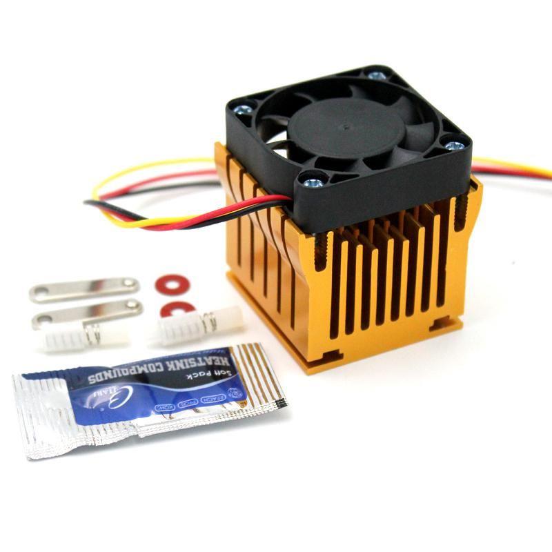 1pcs 40mm X 10mm Cooling Fan Heatsink Diy Northbridge Cooler South