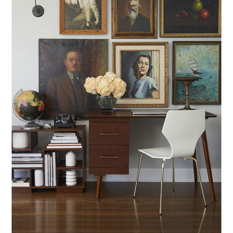 Beckley Mid Century Writing Desk Home Decor Styles Mid Century Writing Desk Mid Century Desk