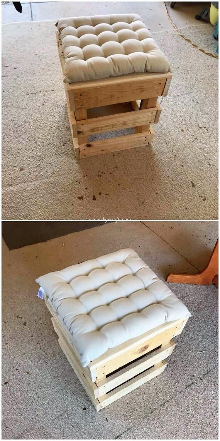 Fabulous DIY Wooden Pallet Ideas and Projects #woodpalletfurniture