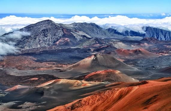 Hawaii – Vulkankrater Haleakala – Photography A-91926 (Art Prints, Wood & Metal Signs, Canvas, Tote