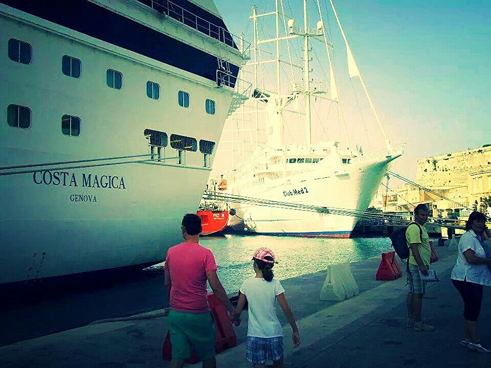 Malta,Valetta,Sailing