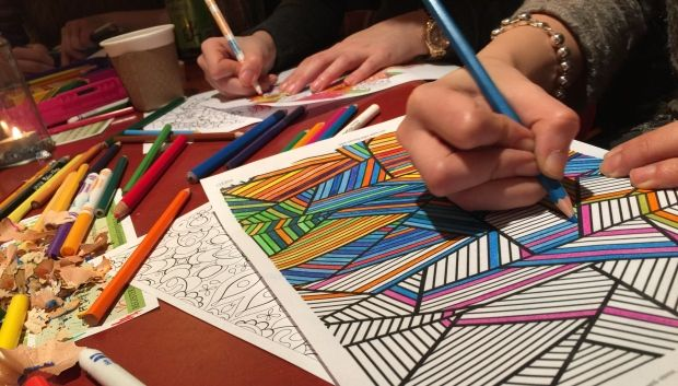 Adult Colouring Book Nights in Toronto - article on CBC