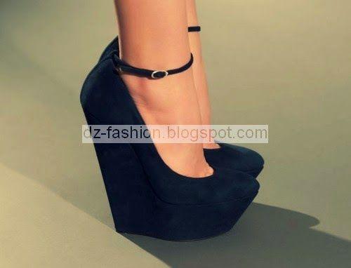 2de743bfd احدث موديلات احذية كعب عالي 2015 - Dz Fashion | DZ fashion | Shoes ...