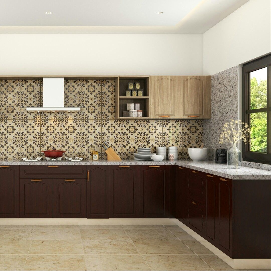 Moroccan Inspired Modular Kitchen Moduler Kitchen Kitchen