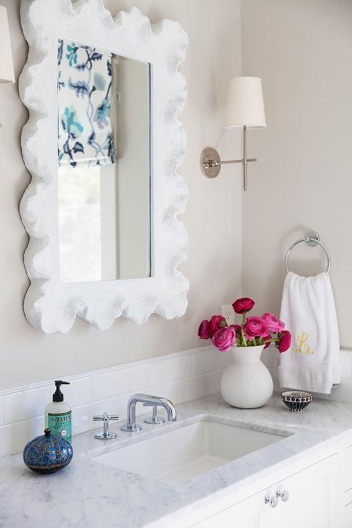 Caitlin Moran Beautiful Bathroom Features A Ballard Designs