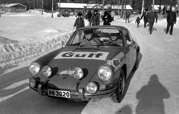 1969 Swedish Rally -- what is it about Porsches and snow!!!!