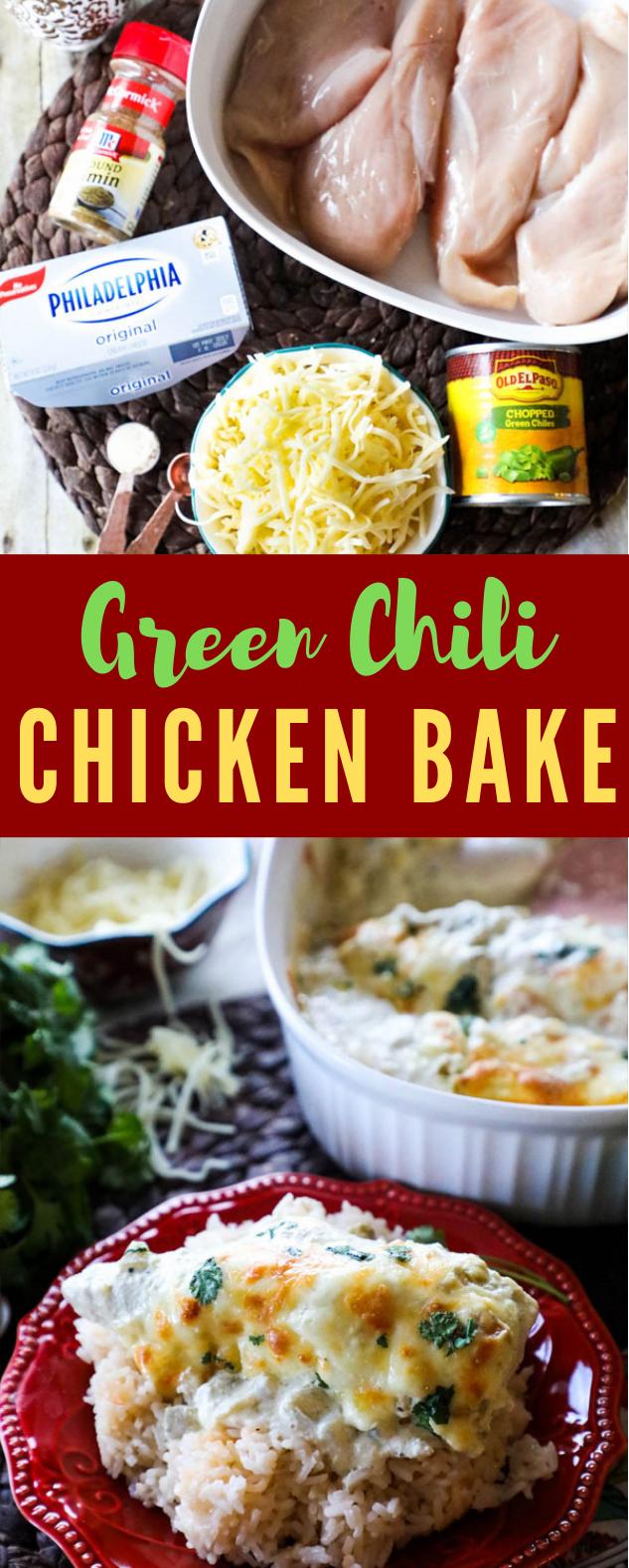 GREEN CHILI CHICKEN BAKE RECIPE GREEN CHILI CHICKEN BAKE RECIPE