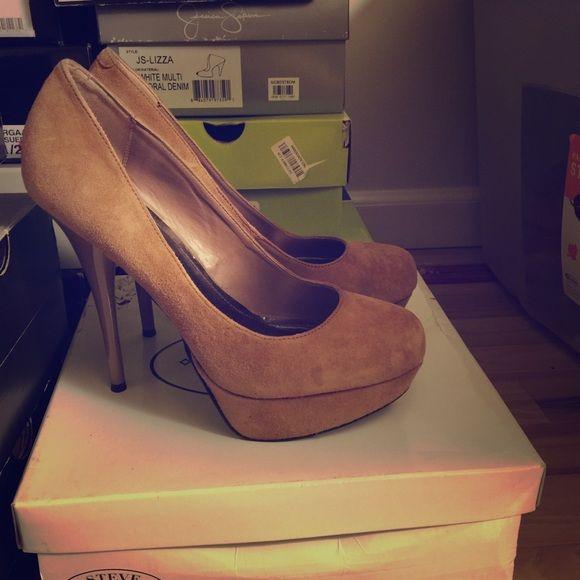 Steve Madden Caryssa Blush pumps Normal wear. Pretty good condition Steve Madden Shoes Heels