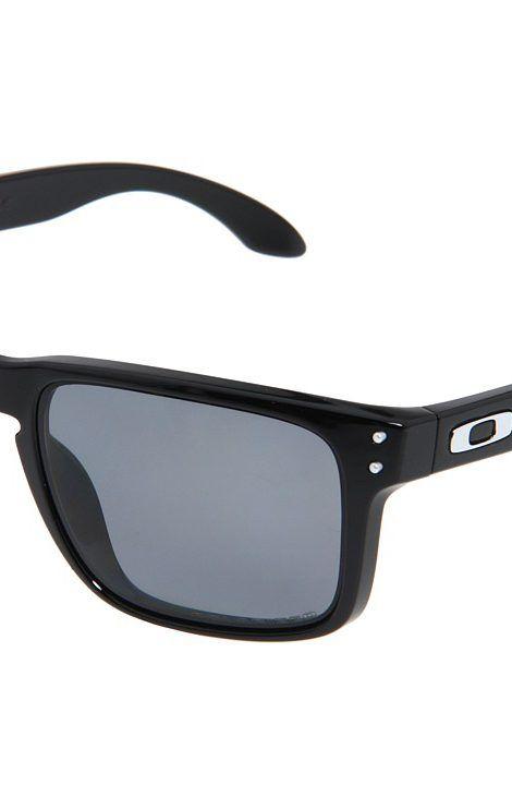 Oakley Holbrook Polarized (Polished Black Grey Polarized Lens) Sport  Sunglasses - Oakley f599006a41