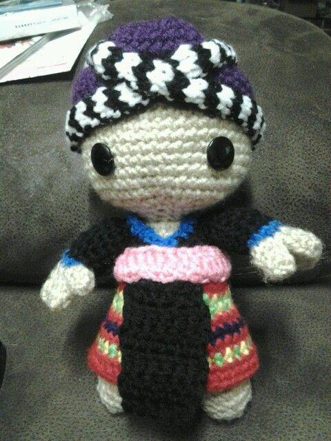 Hmong crochet