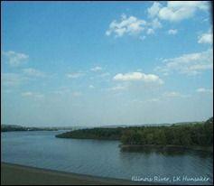Illinois River, Peoria IL