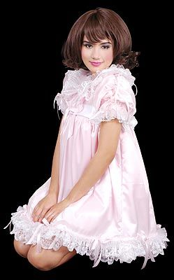 Satin puff baby dress sissy store pinterest satin formal wear satin puff baby dress fandeluxe Choice Image