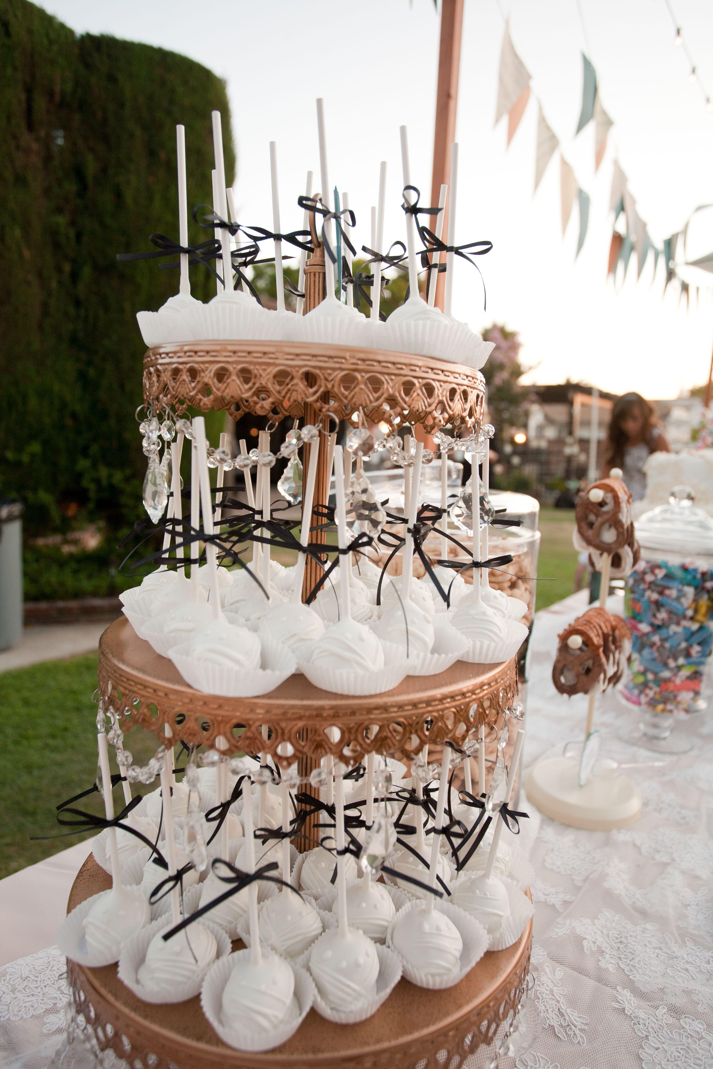 Bride cake balls