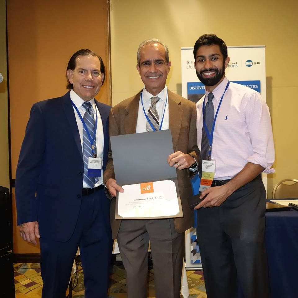 Dr Lad Was Recently Honored As A Life Member Of The American Dental Association