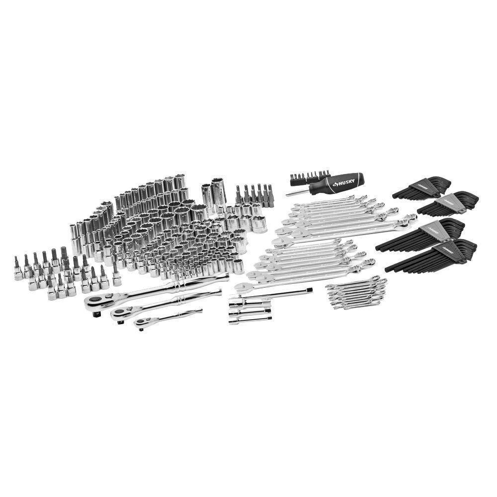 Husky Mechanics Tool Set 268 Piece H268mts The Home Depot