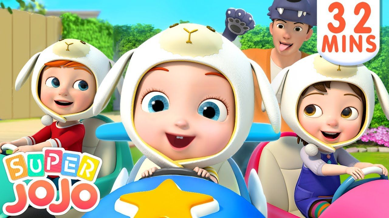 Wheels On the Car | Baby Shark + More Nursery Rhymes ...