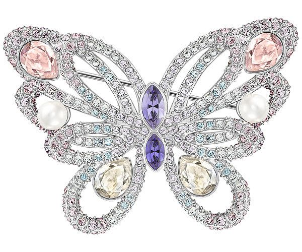 Fun yet sophisticated. This romantic butterfly-inspired design by Swarovski mixes beautiful gradations of crystal colors with sparkling clear crystal ... Shop now