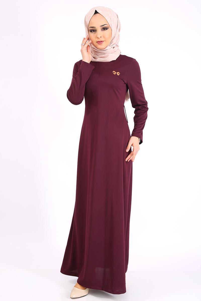 Modaselvim Gunluk Tesettur Elbise Modelleri Moda Tesettur Giyim Elbise Modelleri Moda Elbise