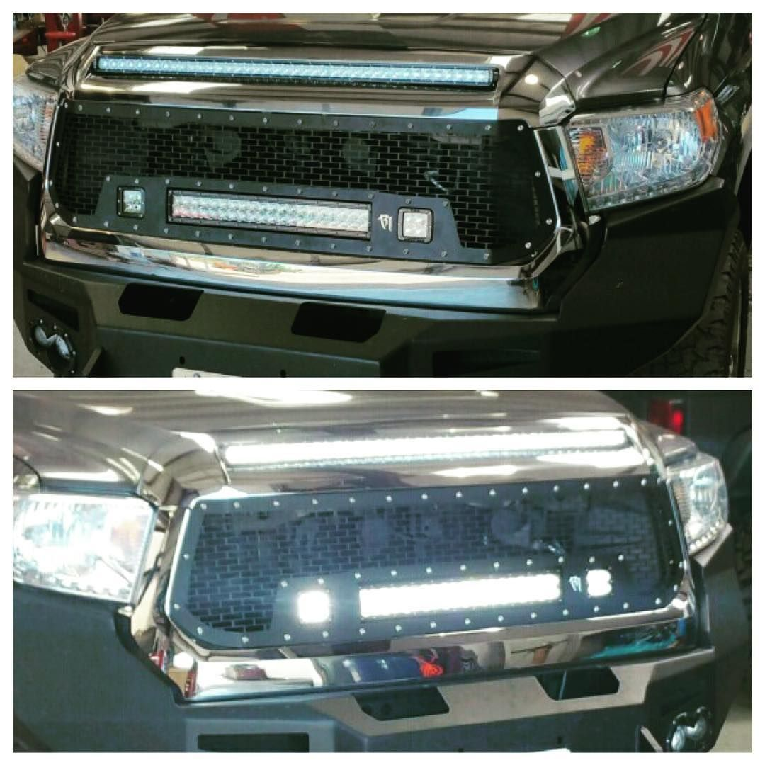 2015 tundra with a rigid grille a 20 light bar and two d2s we 2015 tundra with a rigid grille a 20 light bar and two d2s we also put a 40 rds light bar in the hood tundra toyota lonestar4x4 follow aloadofball Image collections