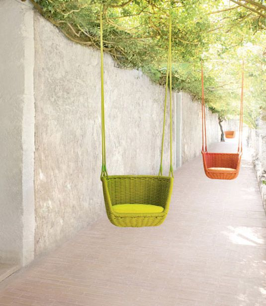 33 inspirational examples of furniture design Swings, Kids
