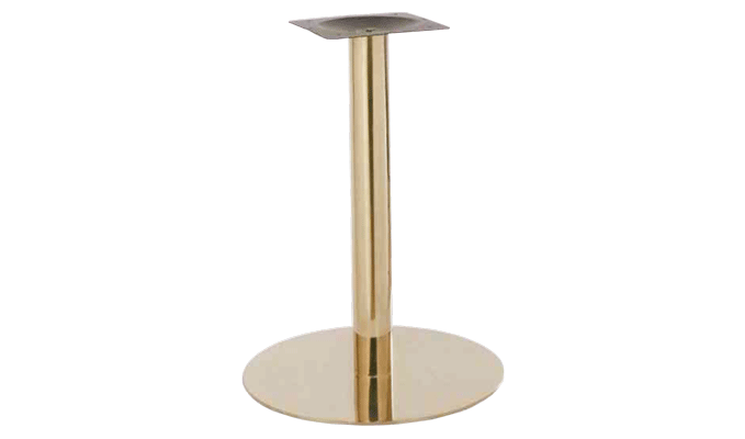 Gold Table Base Create A Warm Vibe To Your Cafe Or Restaurant Cafetable Restaurantdesign