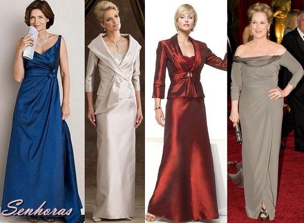 Vestidos para festa senhoras