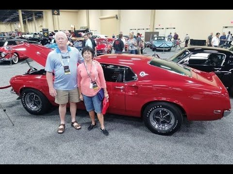 Original Owners of a 21,000 mile 1969 Boss 429 Ford Mustang Sell at Barr...