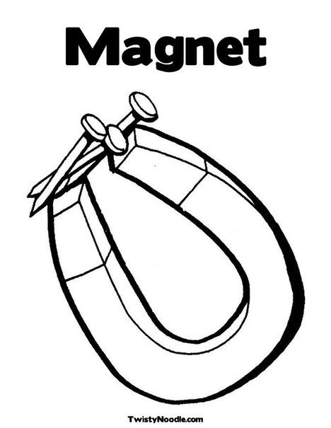 magnet coloring pages - photo#13
