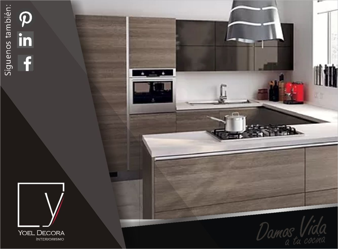 Cocina en forma de u mayor area de trabajo en este - Cocinas pequenas en forma de u ...