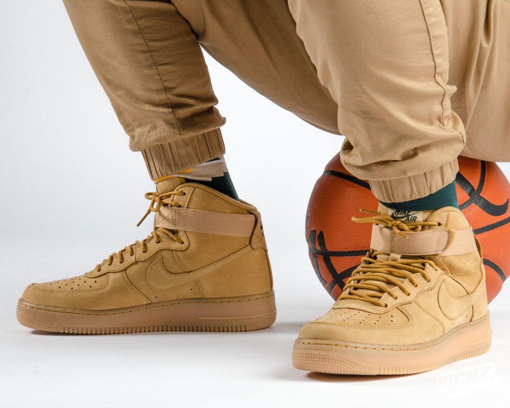 Nike Air Force Hommes Bronzage Bottes De Cow-boy