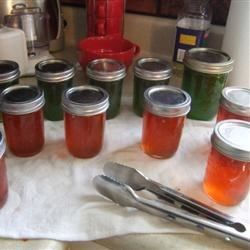 recipe: jalapeno pepper jelly recipe with powdered pectin [17]