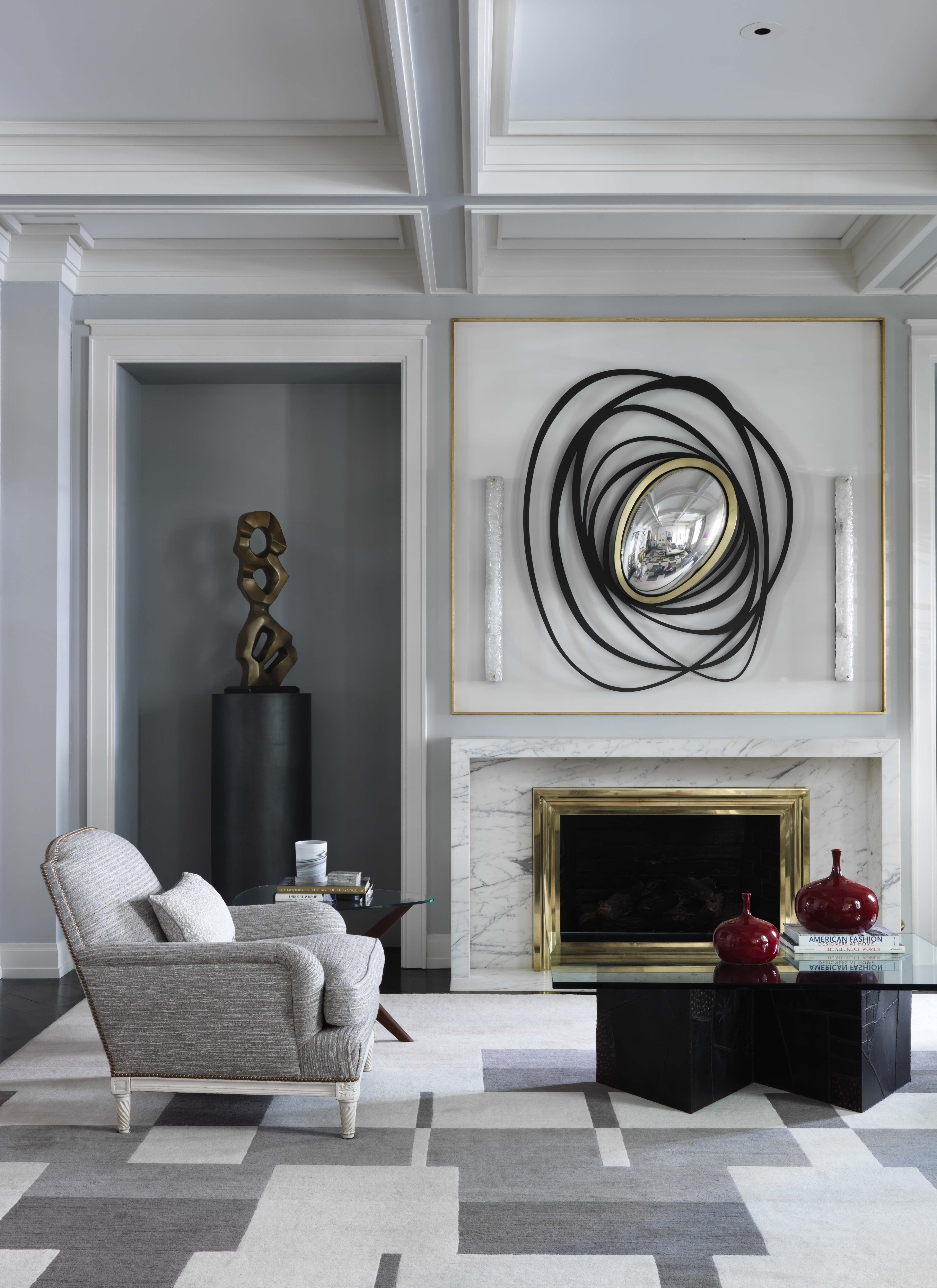 8 Sophisticated Interiors By French Designer Jean Louis