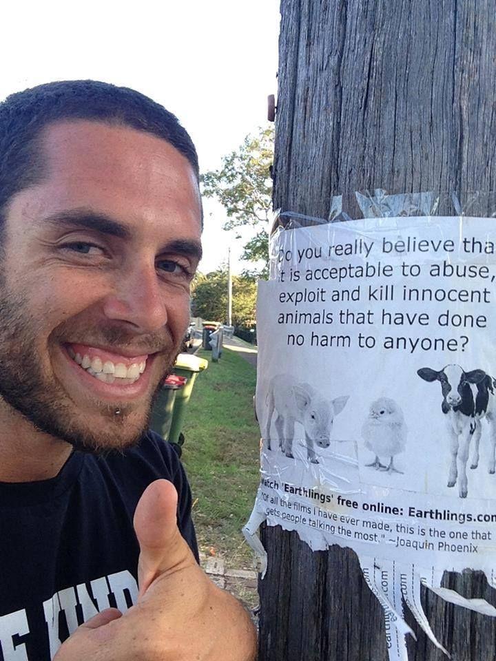 James Aspey An Australian Animal Rights Activist Animal Rights Activist Mercy For Animals Vegan Memes