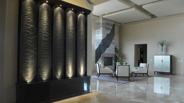 Indoor Waterfall Design And Construction Indoor Wall Fountains