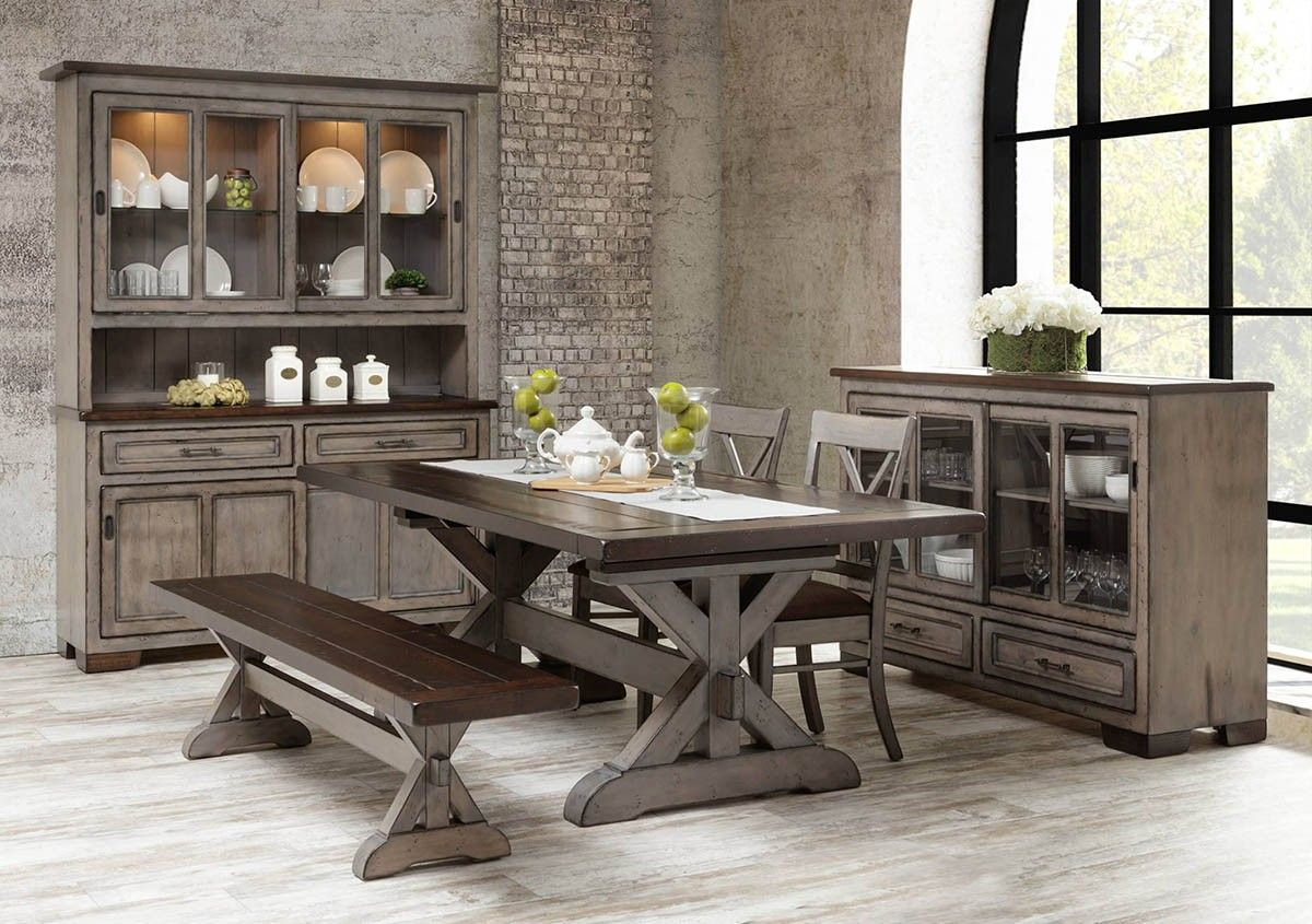 Hudson Amish Dining Table In Lancaster County Pa Self Storing Or