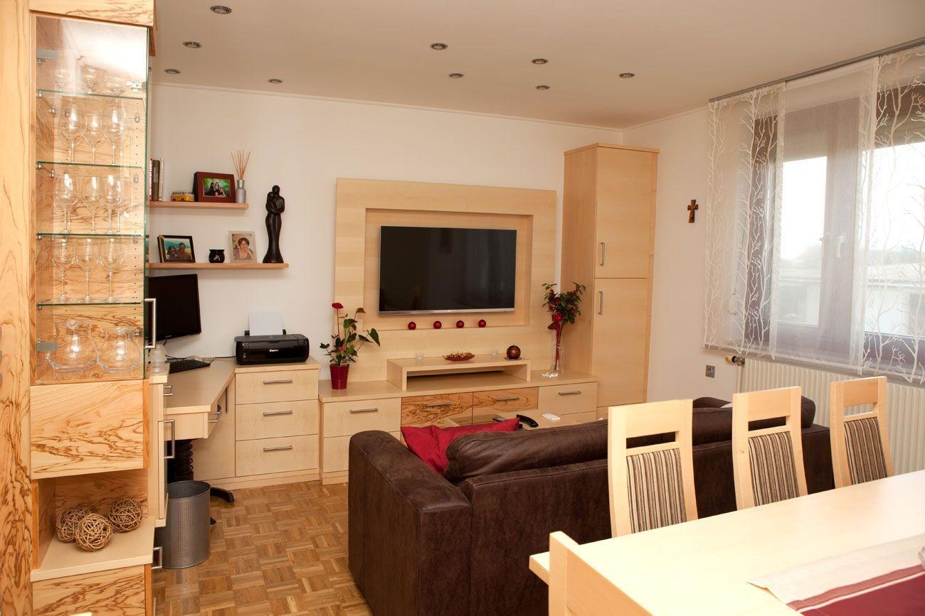 kleines wohnzimmer optimal einrichten   kleine Wohnzimmer, Wände ...