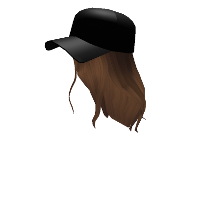 Customize Your Avatar With The Baseball Cap Cutie And Millions Of Other Items Mix Match This Hair Accessory Wi Black Hair Roblox Roblox Hair Ball Hairstyles