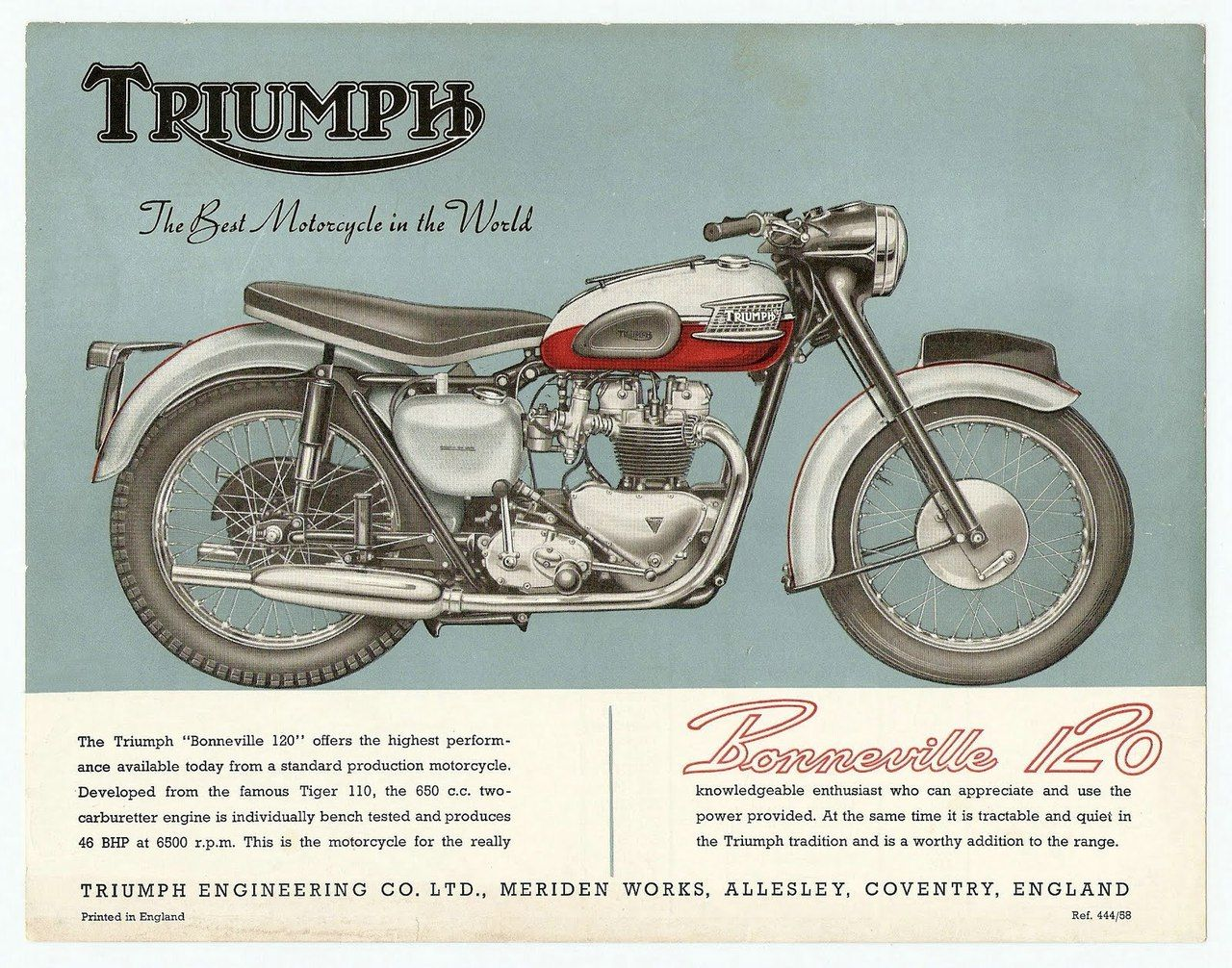 triumph bonneville 120  the best motorcycle in the world
