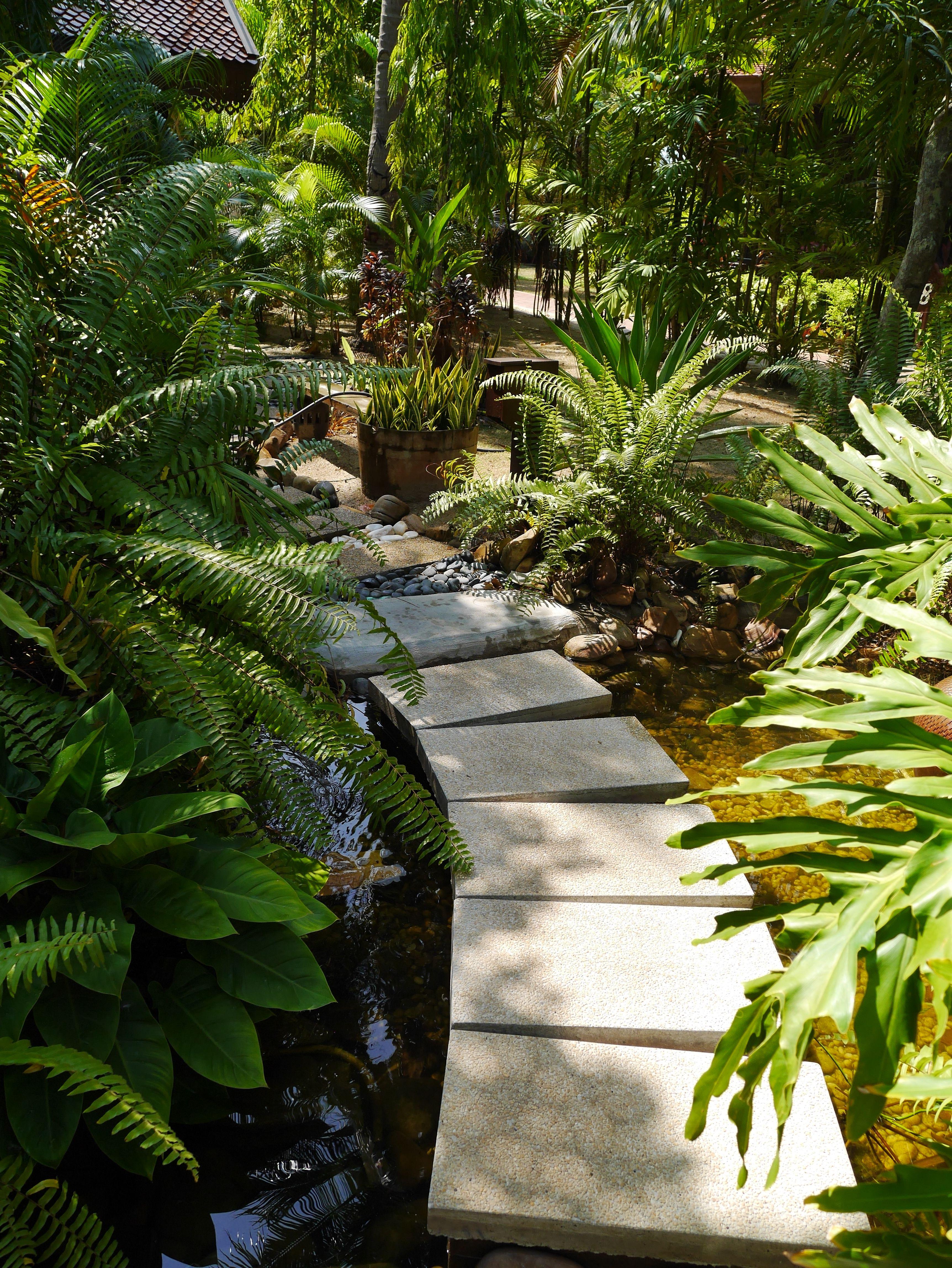 walkway bali garden backyard tuin idee pinterest bali