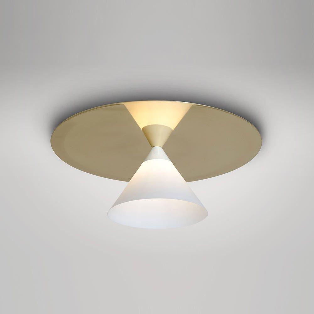 Light Fixture Plate Plafonnier Plate & Coneatelier Areti  Luminaires  Pinterest